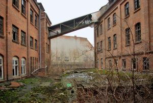 leerstehende Fabrikhalle in Zeitz