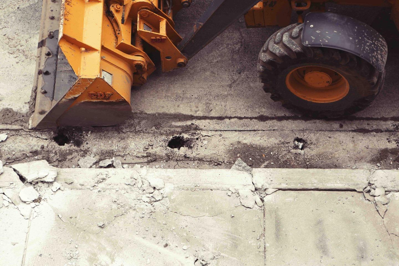 Straßenbauindustrie Altlastensanierung